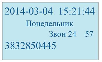 Телефон izava Caller ID